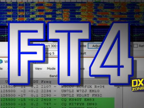 """Modi digitali, Qusi tutti conoscono FT8 ma in pochi l' """"ft4""""."""